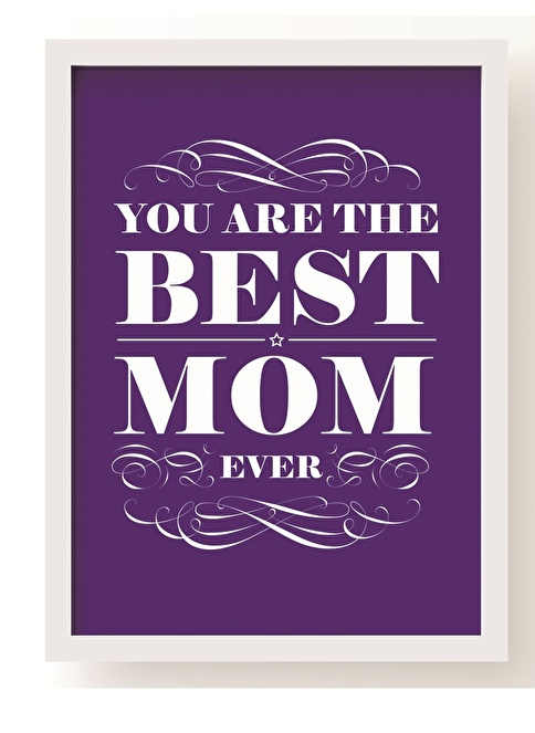 All About Wall Best Mom Poster Mor